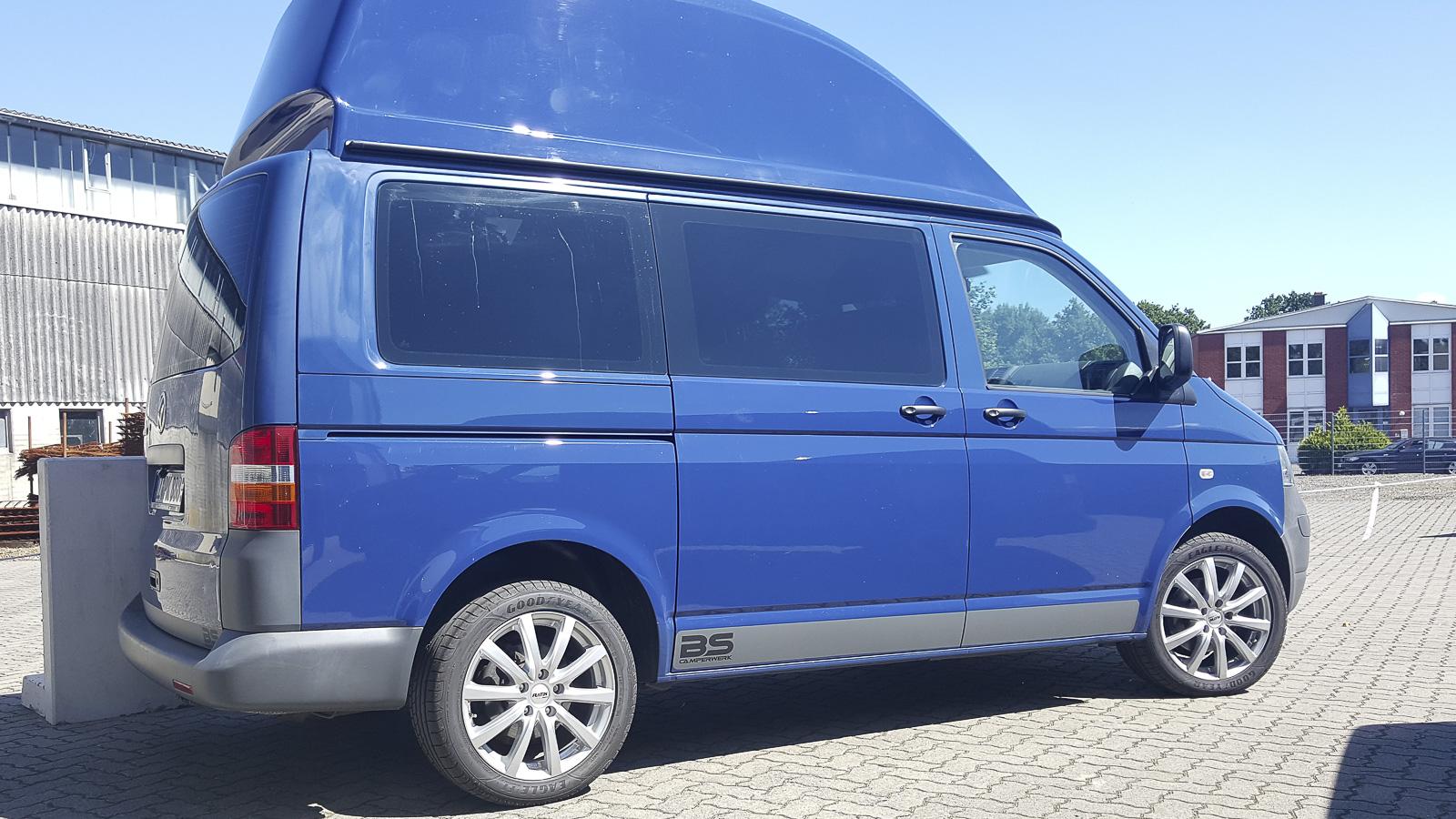 VW T5 Offroad Premium mit Hochdach – BS Camperwerk